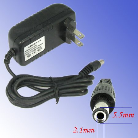 US 2-pin 12V 1A Power Supply Switch Adapter for CCTV Camera(China (Mainland))