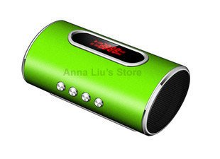 New Rice Type Card Mini Speaker for MP3/iPod/PSP/CD/DVD/Phone/PC & 10PCS/Lot DHL/EMS Free Shipping