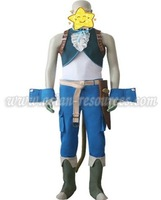 Freeshipping Hot Selling low price Cheap Cosplay Costume C0615 Final Fantasy IX 9 Zidane Tribal