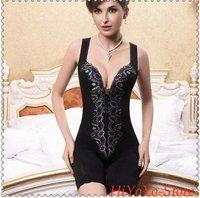 Lady Body Shaper/Fashion Woman Shapers/Sexy Glamorous One-piece Shapewear 6pcs+free shipping
