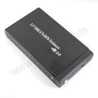 Free Shipping&Tracking 3.5 SATA External HDD HD Hard Disk Drive Enclosure Case#803
