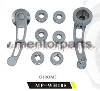 Billet Aluminum Window Handle,CHROME MP-WH105 High quality