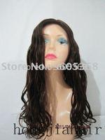 beautuful 18 inch body wave jewish wig kosher wig vigin non processed mongolian hair