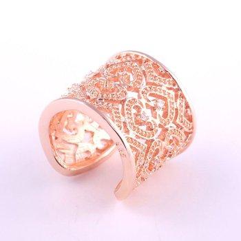 Set stone& many heart golden silver ring.925 sterling silver jewelry.Hot sale silver ring.Ring.FREESHIPPING/WSHOLESALE