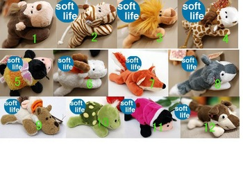 Dolls stop plush toys, for kids toys, 12style animals to choose, best price+free shipping 80pcs/lot