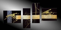 Modern Abstract Art Oil Painting on canvas decor Guaranteed 100% Free shipping