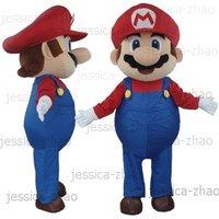 New super mario Mascot Costume Halloween gift costume characters sex dress hot sale