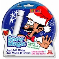 Wholesale - instant snow,magic snow,fake snow,christmas toys,children fun science toy - 30pcs/lot