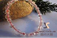 Super cute beautiful lady crystal powder bracelet Symbolize love
