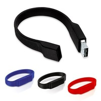 EMS Free!low price rubber bracelet usb flash drive usb 2.0 stick