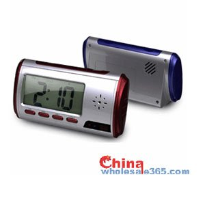 720P Alarm Clock Camera with Remote Controller and Motion Detector Camcorder