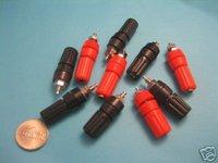 100 Pcs Lank Amplifier Terminal Binding Post Insulated