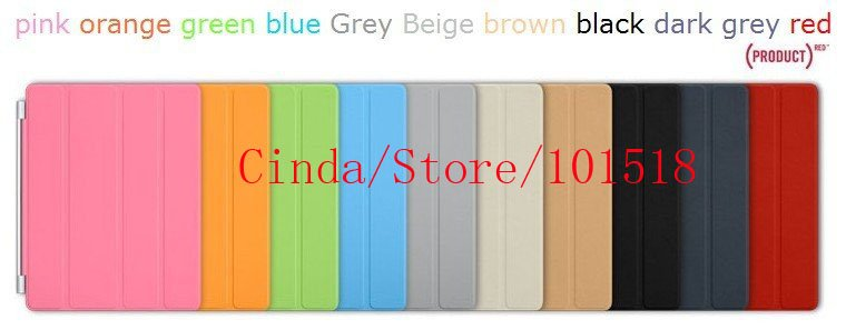 free shipping&10pcs/lot High Quality for ipad 2 smart cover/case/Skin Cover for iPAD2