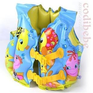SV1- wholesale kid inflatable swim vest girl swim vest the wet set boy swim jacket