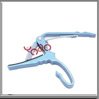 Free Shipping From USA! 100% New! High Quality! 20pcs/lot Quick-Change Clamp Capo For Electric Acoustic Guitar Blue