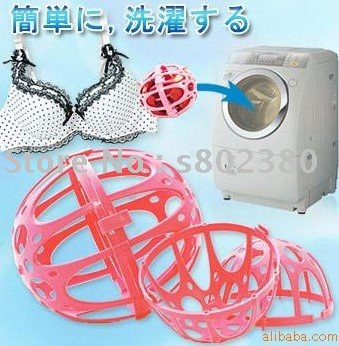 Hot sale TV Shopping, bra washing protector bra washer Bubble bra washing ball laundry saver/Underwear protect wash ball