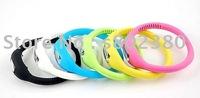 free shipping Anion watch Fashion Wrist sport Watch 1ATM waterproof silicone watch/wristband watch