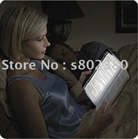 Free shipping LED Night transparent book light Reading light Panel Lightwedge Paperback book lamp