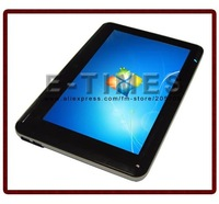 """Free Shipping!! 10.1"""" Capacitive Touch Screen, Fast Response! DDR2 1GB,SATA HDD,160G ,O.S.Linux,support Windows XP home/Vista/7"""