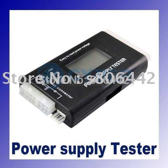 ATX SATA Power Supply Tester LCD Display 20/24 pin dropshipping(China (Mainland))
