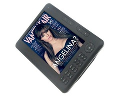 ebook 7 inch screen 4GB 480*800 Pixels screen ebook reader+2400mAh battery+720P mp4 function(China (Mainland))