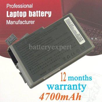 Laptop battery compatible laptop battery, replacement laptop battery for Dell Latitude D530 D600 Series D610 factory wholesale