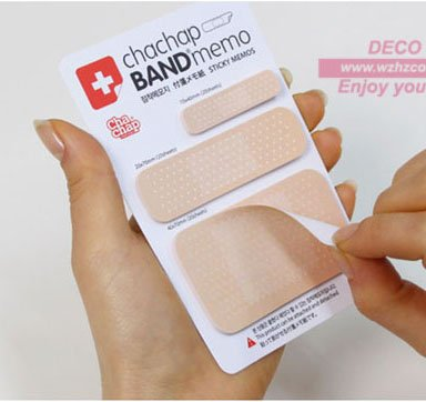 Free Shipping!Creative Special Band Aid type Notepad,Note Memo,sticky Scratch notes,message post,Notebook,Fashion Gift(ss-539)(China (Mainland))