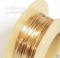 Filled Round WIRE 24GA (0.5mm) HALF HARD 5FT 14K GOLD