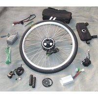Wholesale, Free Shipping 36V 350W Ebike Conversion Kits (Front Wheel), Mini Motor