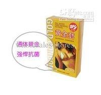 lasting, gold) all show man true colors gold condom golden new 20pcs Gold set (extraordinary