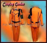Freeshipping Hot Selling low price Cheap Cosplay Costume C1003 Code Geass Suzaku Red Uniform
