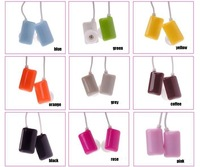 Free shipping factory price 3.5mm Different Colors chewing gum Style Earphone 50pcs/lot