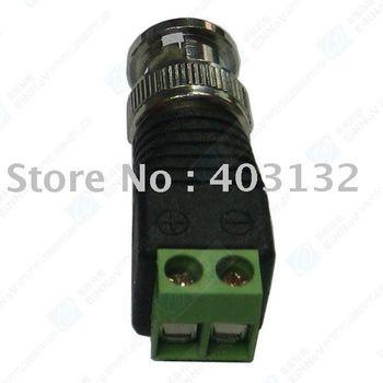 100X Coax CAT5 To Camera CCTV BNC Video Balun Connector F29