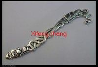 Free shipping 20 pcs/lot alloy bookmark 124mm