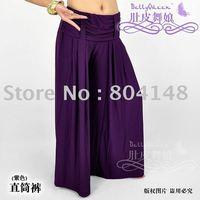 10pcs/Lots  Free Shipping Yoga Belly Dance Costume Tube Pants