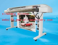 china wide large format indoor inkjet printer for 2 years warranty