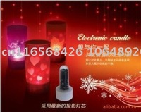 New Wholesales Mini LED Voice Control Projection Light12pcs/lot +Free Shipping