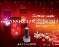 New Wholesales Mini LED Voice Control Projection Light12pcs/lot +Free Shipping