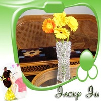 Free Shipping New 27*12cm Soft PVC Folding Foldable Plastic Flower Vase