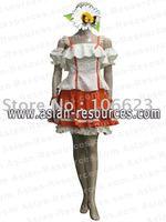 Hotsaleeuro Freeshipping Hot Selling low price Cheap Cosplay Costume C1103 Macross Frontier Ranka Lee Dress
