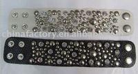 2011 fashion new jewerly new leather wrap bracelet