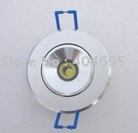Free shipping 1W led ceiling spotlight ,led spotlight ,Interior lights, decorative lights 10pcs