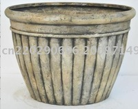 wholesale 20in planter (5pcs/lot)/fiberglass planter supplier/wholesale garden planter