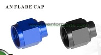 Aluminium hose fitting  high quality  AN FLARE CAP  AN6 MP-HF064BLUE