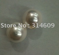 Hot Sale AB Quality Shell Pearl Jewelry Round 16mm Big Hole