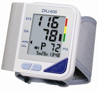 Free shipping Wrist Type English Talking Blood Pressure Monitor