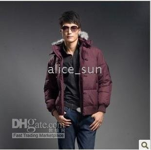 Latest fashion>>>.hot sale >>> men's Collar down jacket style jj##