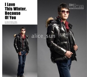 >>> men's Collar down jacket style RV Latest fashion>>>.hot sale