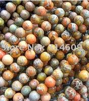 Hot Sale Orange Imperial Jasper Loose Bead Fashion Jewelry Round 14mm
