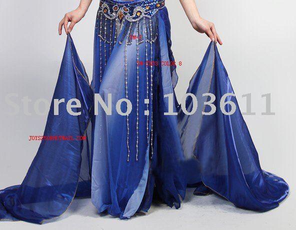10pcs / lot frete grátis saia dança do ventre / barriga traje dança / barriga desgaste da dança(China (Mainland))